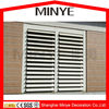 Aluminum blade beauty and save energy window shutter