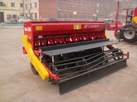 two wheel tractor 12 rows seed drill for barley wheat sesame alfafa
