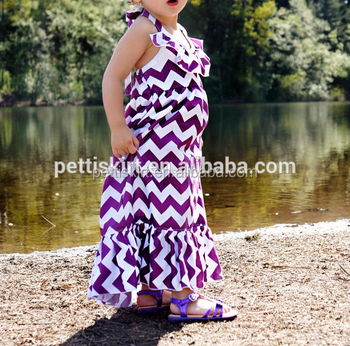 Chevron full frock for girls beach dress unique baby girl names images