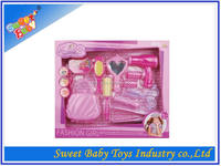 Hot Sale Plastic Beauty up Playset With Light,Dress Up Set Toy For Girl,Make Up Set Toy