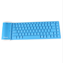 Top quality portable universal flexible computer keyboards silicone keyboard