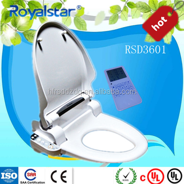 NEW! Bathroom ware electric smart toilet seat bidet for personal cleaning american standard bidets toilets
