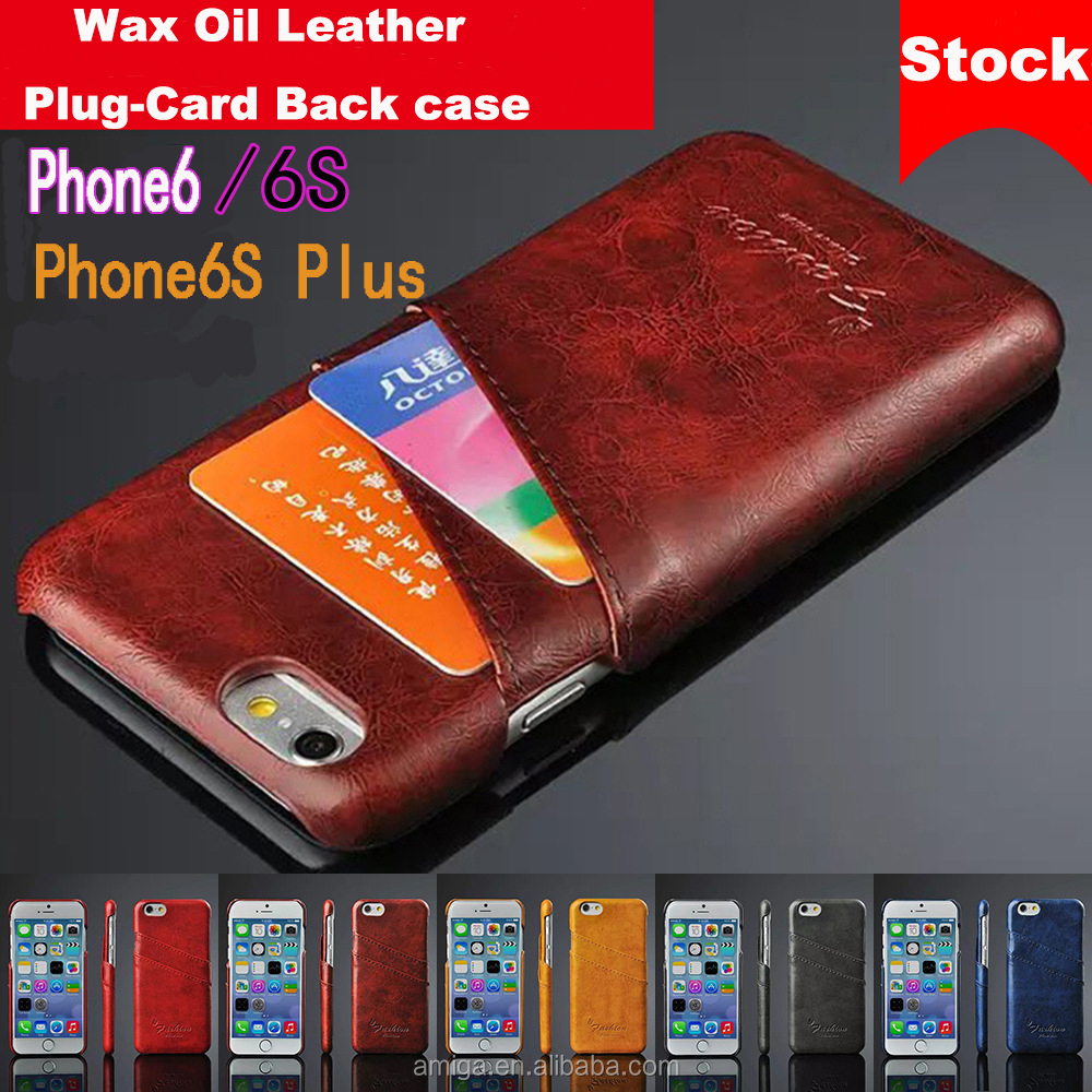 universal leather case New Designs Custom Printed Leather Wallet For Apple For iPhone 6, For iphone accessories