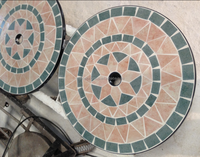 outdoor mosaic table tops/marble mosaic