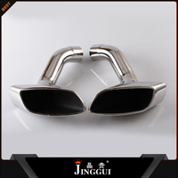 for bmw x5 muffer tips dual exhaust tips