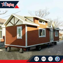 moveable tiny mobile homes/trailer motorhome base/prefab moving house on wheels