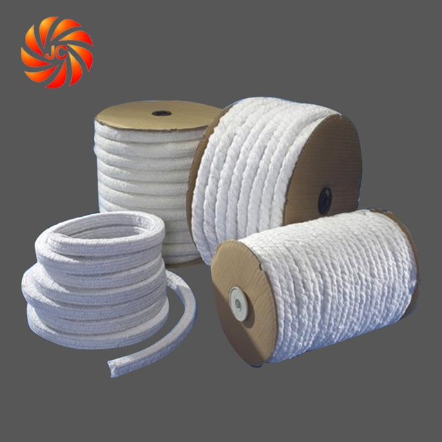 Several size of ceramic fiber rope 500-600kg/m3