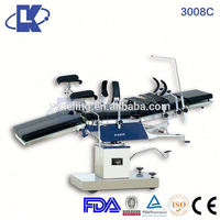 surgical electro-hydraulic operating table CE ISO FDA accessories for operating table X-ray compatible