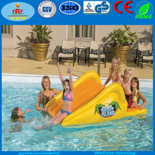 Water sports Inflatable Floating Pool Slide, Inflatable Pool Slider Island