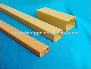 Pvc tubo cuadrado tubo rectangular de pl stico otros - Tubo pvc cuadrado ...