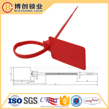 Plastic cable tie Plastic container security seals safety seal Plastic lock