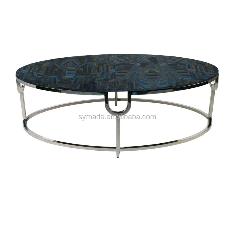 Gemstone furniture counter top table top desk