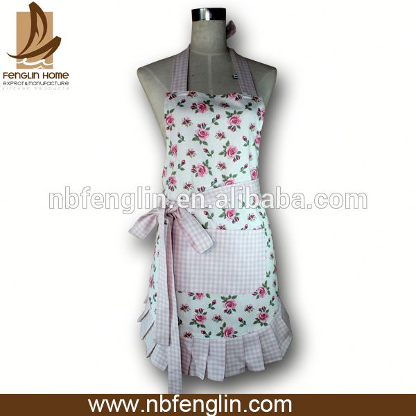 Hot selling new design pattern sexy apron for kids
