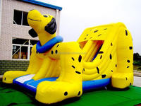 little indoor inflatable air castle for children