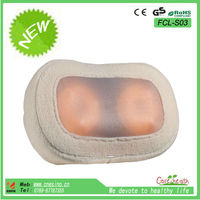 Travel Vibrating Massage Neck Pillow/Vibration Back Massage Pillow