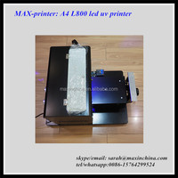 Factory Price of Max DTG A4 Led UV Flatbed Printer