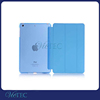 Tri-fold auto sleep and wake up function leather case for ipad mini 3