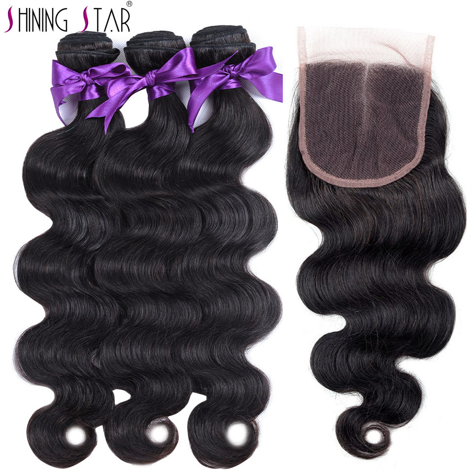 Best Selling Products 2018 in USA Natural Brazilian Body Wave with Closure