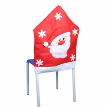 2016 snowman Christmas chair covers Santa Clause chair cover