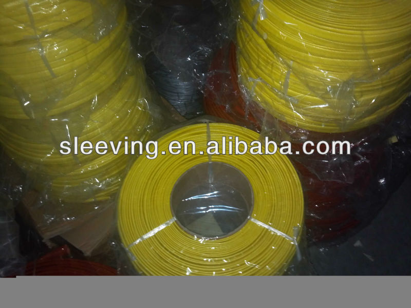 Acrylic resin coated fiberglass sleeving