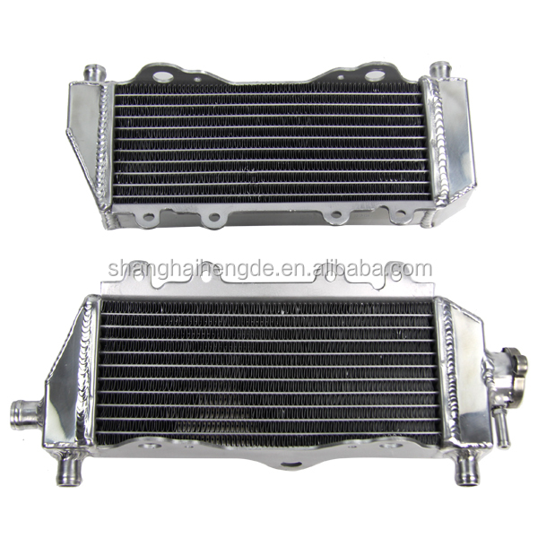 dirt cheap auto parts aluminium motor Radiator for Yamaha YZ250 2002-2012