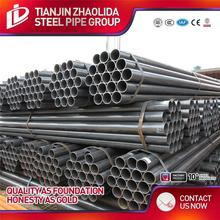 Construction/ Liquid delivery/ Gas delivery/ Conduit use thin wall black steel pipe