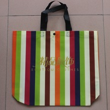 China good quality pp non woven fabric tote bag manufacturer