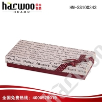 Cheap and high quality cardboard paper tie box