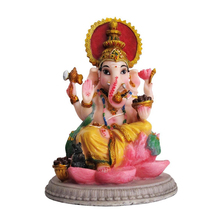 Beautiful Lord Ganesh Blessing Resin Hindu God Idols