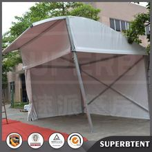 Low price steel structure high quality half dome tent for soccer football fields
