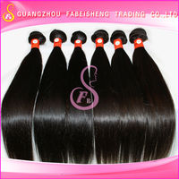 Best quality natural color virgin filipino light brown straight weave