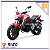 Top quailty and cheap 4 stroke red 250cc motorcycles for sale