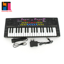 10285041 Music Instrument Toys 37 Key Electronic Kids Piano With Microphone