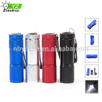 High Brightness Pocket Light Promotional Gift LED Mini Torch 9 LED Flashlight