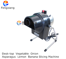 Vegetable Onion ring Carrot Lemon Tomato Round Chips Slicing Machine Cabbage shredder machine table size