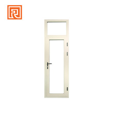 Double glass exterior aluminium commercial steel french doors/casement doors