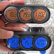 new Car Mini LCD Digital Indoor Outdoor Temperature Thermometer