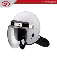 hot sale white pilot helmet full face helmet with visor