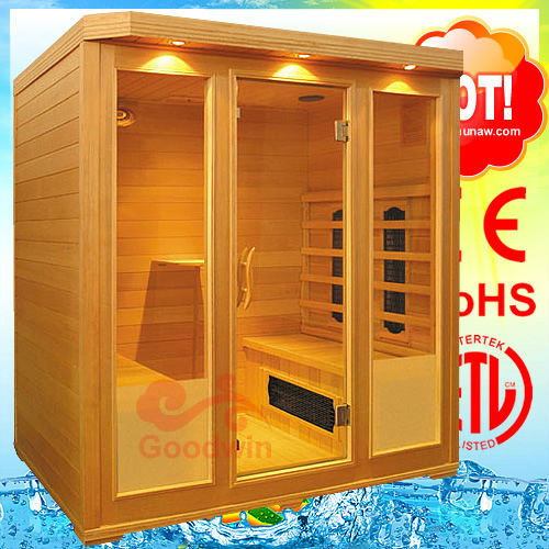 Sauna finlandais gw 401 maison sauna l 39 int rieur salle for Fabrication sauna interieur