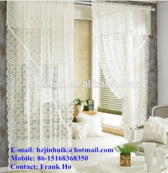 Polyester Lace living room bedding girls for Curtains Sets