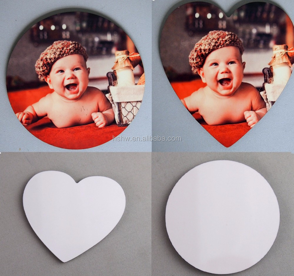 Blank mdf sublimaltion fridge magnet