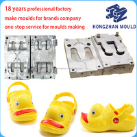 plastic products multi-cavity eva injection garden shoe mould