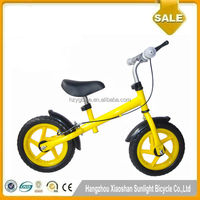 2016 Price cheap 12inch steel frame bicycle/balance kids bikes/baby Push Bike