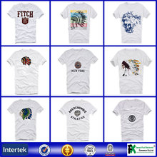 Fashion and popular products brand name large quantity longline t shirt