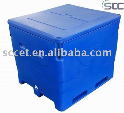 400L Roto Insulated Fish Tub Insulated Fish Tote Cooler Box