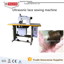 Ultrasonic Industrial Lace Sewing Machine for Coloured Flag