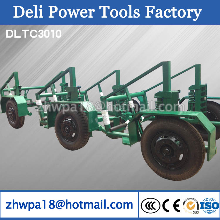 cable drum trailer propelled reel/spool trailer Cable Laying Equipment