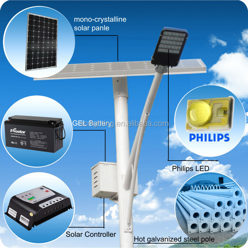 Cheap electrical DC 12V solar led street lighting 28w 42w 56w 70w 84w 98w