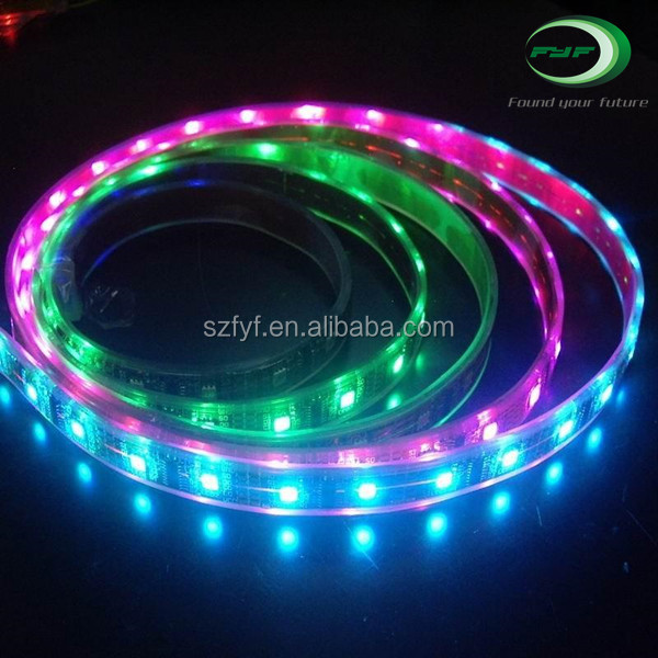 RGBW 16.4ft/5m Waterproof 5050 LED Strip Light ,RGB and Cool White Mixed Color Changing Flexible LED Strip Light 300 LEDs DC12V