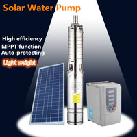 exported to 50 contries solar panel kits water pump 2 hp electric water pump
